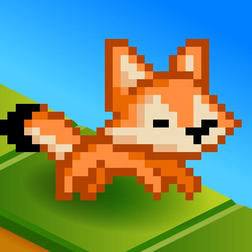 Pixel Stars Icon