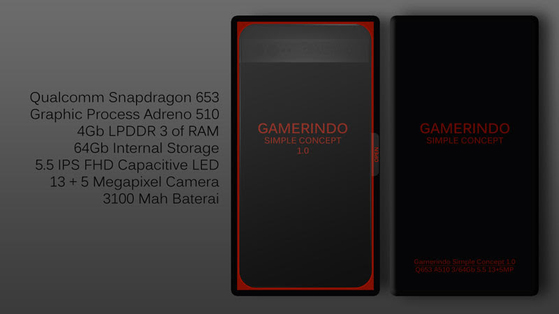 Gamerindo Smartphone Simple Concept 1.0