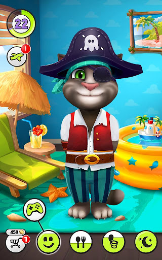 My Talking Tom  gameplay | by HackJr.Pw 10