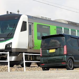 Nボックスカスタム JF1 H28年式・緑黒箱のカスタム事例画像 Nちびさんの2019年03月17日08:36の投稿