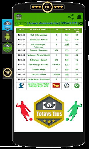 Winning Fixed Match VIP screenshot 2