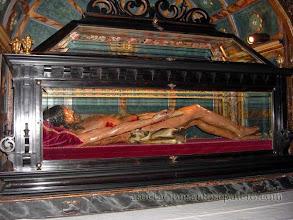 Photo: Urna y Cristo Yacente (14634). Ponferrada (León)