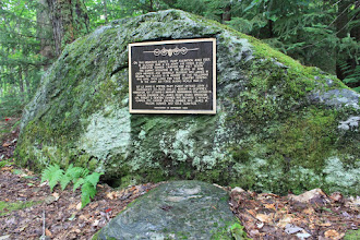 Photo: Plaque at Camel's Hump State Park by Paul Carney