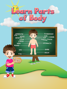 Learn Parts Of Body - náhled
