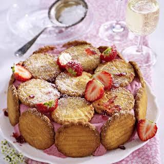 Strawberry Charlotte Cake.