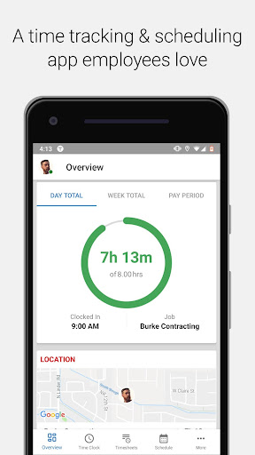 Screenshot for TSheets Time Tracker in United States Play Store