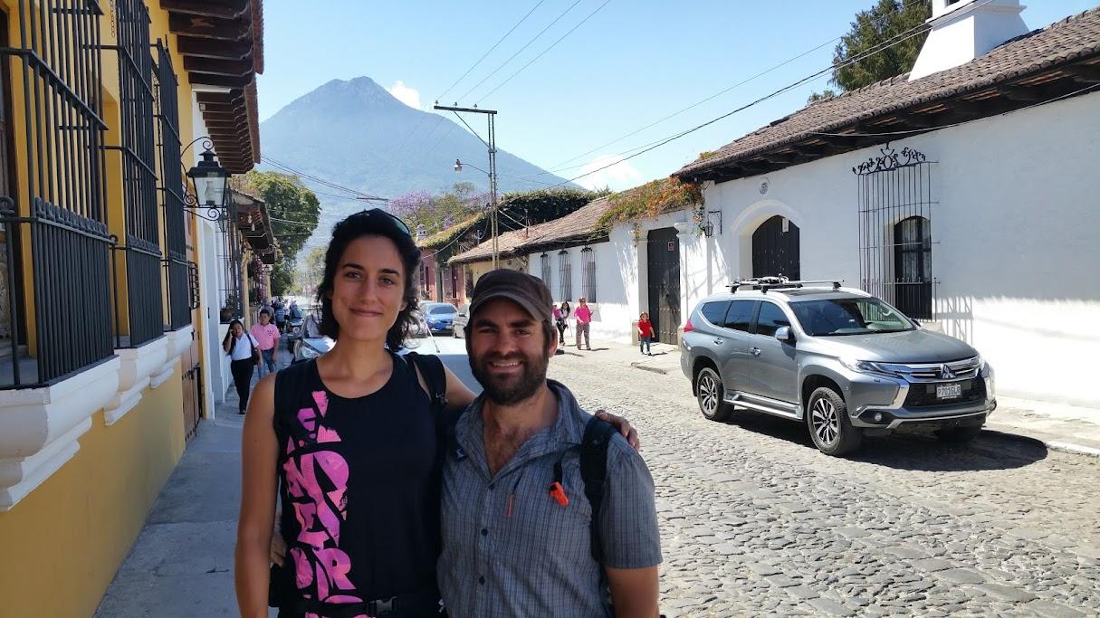 Antigua selfy