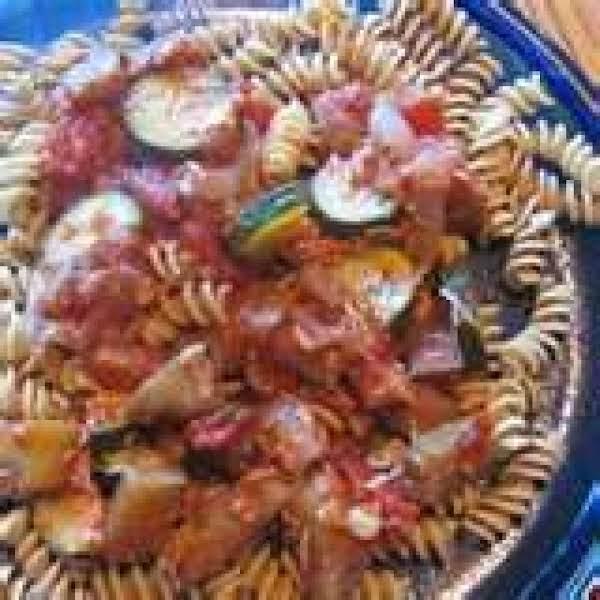 Grilled Ratatouille Pasta