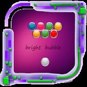 Shoot colorful bubbles