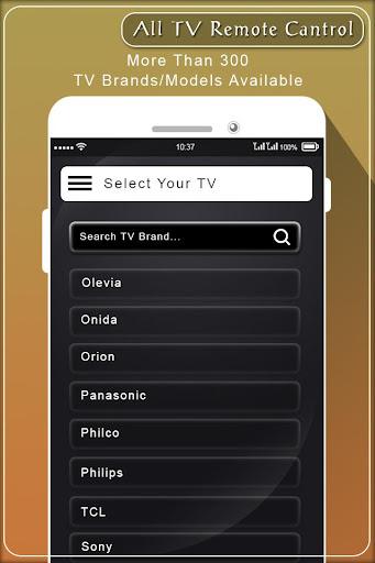 Remote for All TV Model : Universal Remote Control 1.5 screenshots 4
