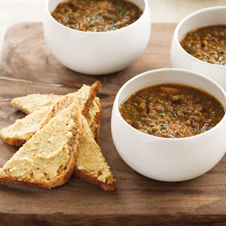 Moroccan Lentil Soup from Annabel Langbein.
