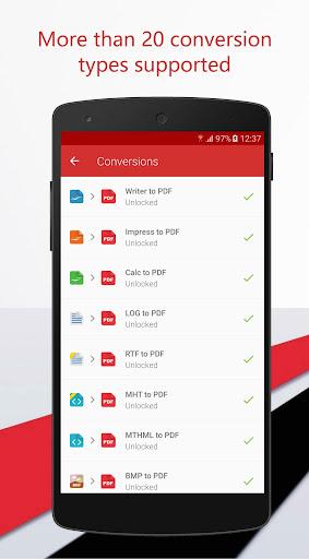 PDF Converter 1.0.19 screenshots 2