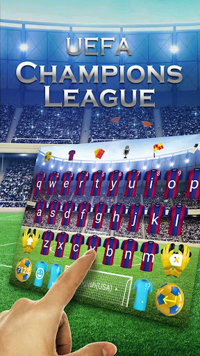 Football Royal Keyboard Theme for PC