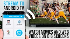 Video & TV Cast | Google Cast: Android TV Streamerのおすすめ画像1