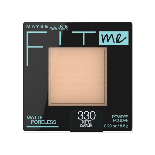 Compacto Fit Me Maybelline Matte+Poreless Toffe 330