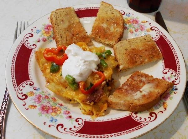 Frittata  Breakfast Winner. W/ Step By Step Photos Recipe