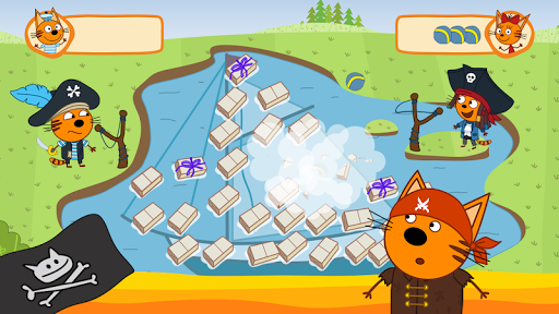 Kid-E-Cats: Pirate treasures. Adventure for kids apkdebit screenshots 11