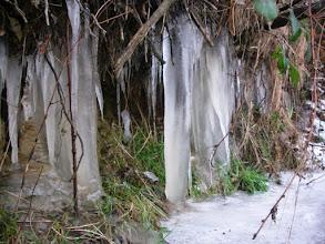 Photo: mocno lodowo