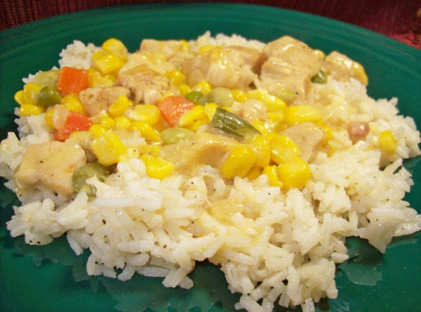 Creamed Chicken And Vegetables,a.k.a.  Chicken Stuff  Recipe