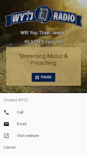 WYTJ Radio- screenshot thumbnail