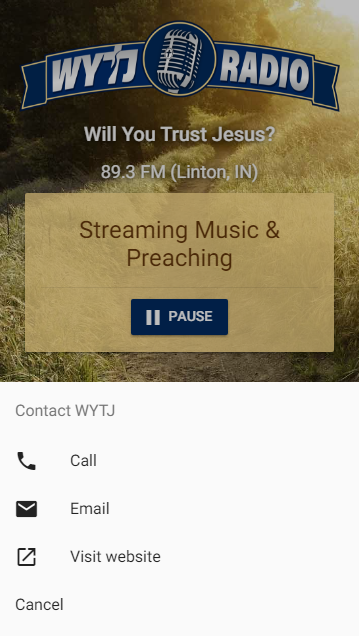 WYTJ Radio- screenshot