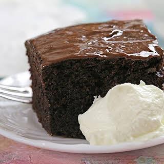 Ultra Moist Chocolate Cake.