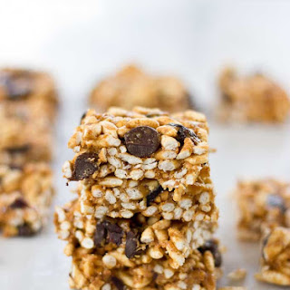 Crunchy Peanut Butter Chocolate Chip Bars Recipe
