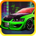 Classic Car City Racing 3D icon