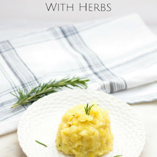 Mashed Sweet Potatoes with Herbs Recipe