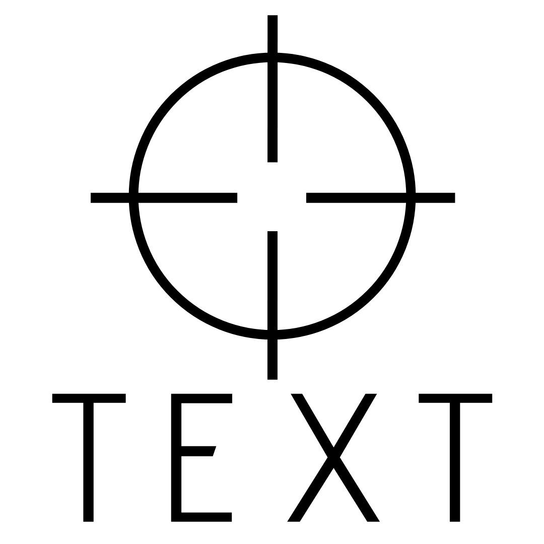 military logo crosshair