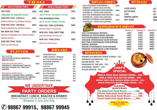 THE SOUTHERN KITCHEN menu 4