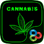Weed Cannabis Launcher Theme APK icon