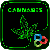 Weed Cannabis Launcher Theme