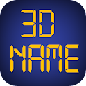 3D My Name Live Wallpaper - WP icon