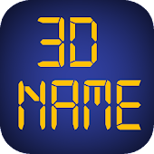 3D My Name Live Wallpaper - WP