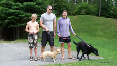Photo: Walking the dogs at Little River State Park by Jason Croteau