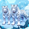 White Tiger Family Sim Online - Animal Simulator icon