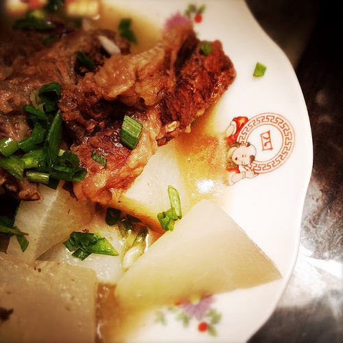 Chinese, Daikon, Brisket, Stew, recipe, beef,  清湯, 蘿蔔, 牛坑腩