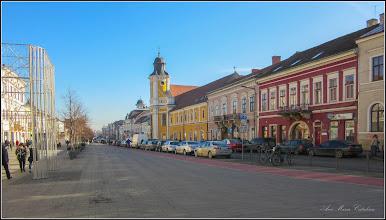 """Photo: Cluj-Napoca - Bulevardul Eroilor, Nr.10 -  """"Catedrala Schimbarea la Față (cunoscută și ca Biserica Minoriților) - 2018.01.31 Monument istoric și de arhitectură. Edificiul a fost ridicat între 1775-1779 în stil baroc. Din 1924 servește drept catedrală a Episcopiei Greco-Catolice de Cluj-Gherla"""" - info Wikipedia"""