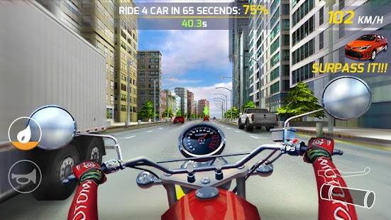 Moto Highway Rider Screenshot