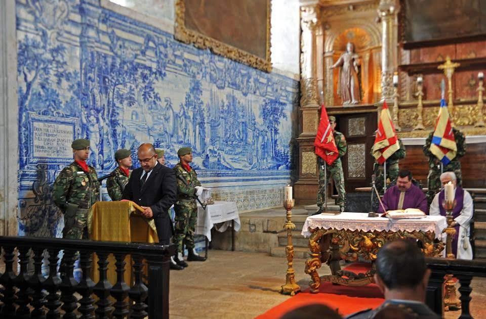 CTOE e Liga dos Combatentes homenageiam mortos em combate