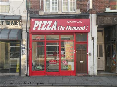 Pizza On Demand On High Road Pizza Takeaway In Brent Park