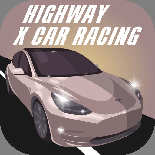 Highway X Car Racing. Race Driver
