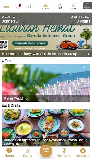 Aerowisata Hotels & Resorts screenshot 2