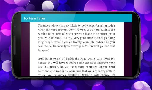 Fortune Teller app (apk) free download for Android/PC/Windows screenshot