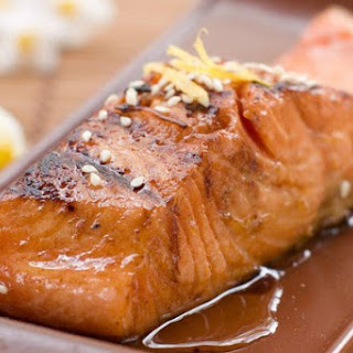 Marinated Baked Salmon Recipe