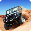 Desert Racing- Offroad Jeep Stunt Racer Simulator icon