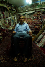 Photo: Khalis Younis, the Turkmen antiq seller, Erbil 2014
