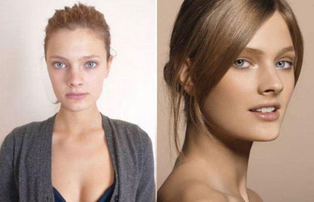 Ünlü Modellerin Makyajsız Halleri - Constance Jablonski
