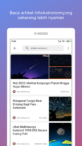 InfoAstronomy App screenshots 2